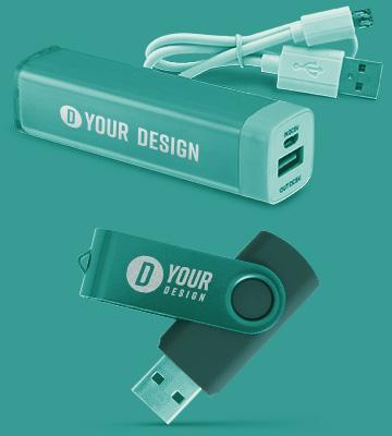 Personalizované kabely a nabíječky s logem firmy a potiskem