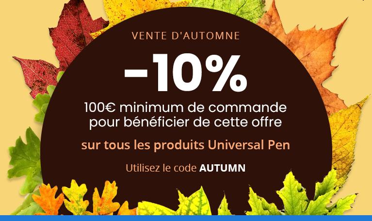 code promo universal pen