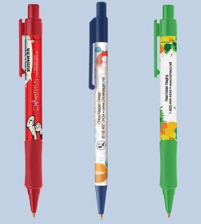 customised antibacterial pens